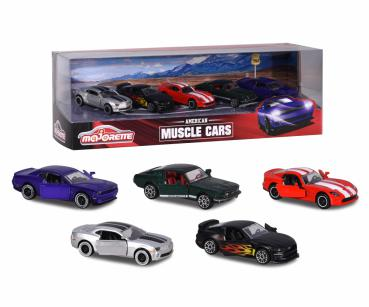 Majorette - Muscle Cars 5 pcs Giftpack