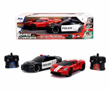 RC Heat Chase Twin Pack 1:16