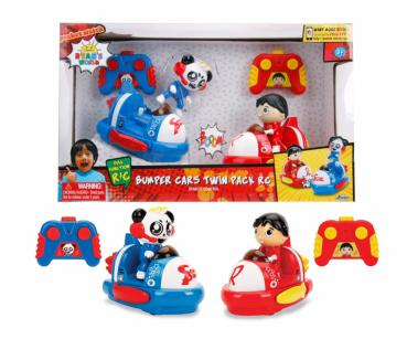 Ryan's World IRC Bumper Cars Twin Pack