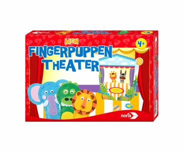 NORIS 606041550 - Mein Fingerpuppen Theater