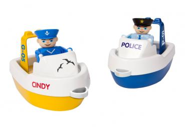 BIG 55106 - Waterplay Boat-Set Boote