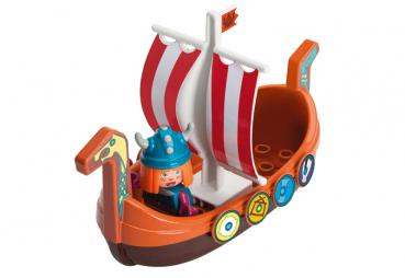BIG 55128 - Waterplay Wickie Drachenboot