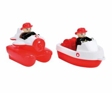BIG 55133 - Waterplay Fire-Boat-Set