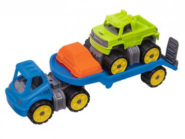 BIG 55809 - Power Worker Mini Monstertruck-Set