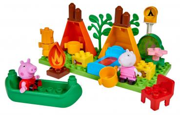 BIG Bloxx Peppa Pig Camping Set 57143 00