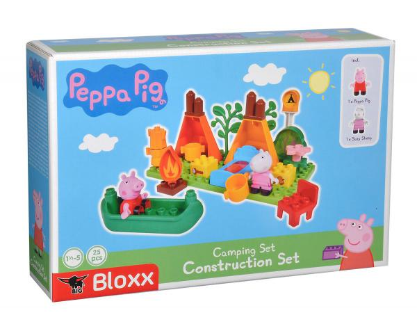 BIG 57143 - Bloxx Peppa Pig Camping Set